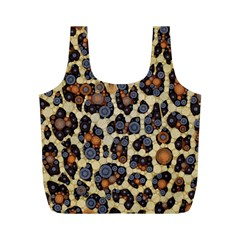 Cheetah Abstract Reusable Bag (m) by OCDesignss