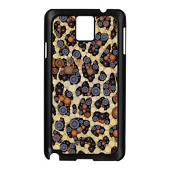 Cheetah Abstract Samsung Galaxy Note 3 N9005 Case (black) by OCDesignss