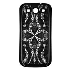 Black Onyx  Samsung Galaxy S3 Back Case (black) by OCDesignss
