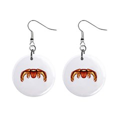Alien Spider Mini Button Earrings by dflcprints