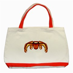 Alien Spider Classic Tote Bag (red) by dflcprints