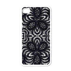 Twisted Zebra  Apple Iphone 4 Case (white) by OCDesignss
