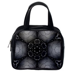 Black Marshmallow  Classic Handbag (one Side) by OCDesignss