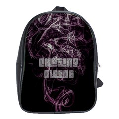 Chasing Clouds School Bag (xl) by OCDesignss