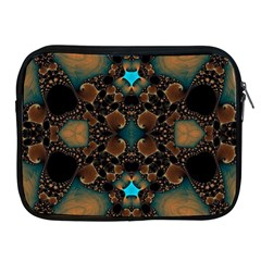 Elegant Caramel  Apple Ipad Zippered Sleeve by OCDesignss