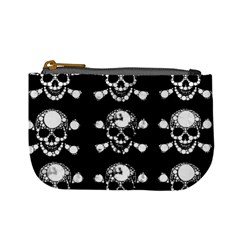 Skull Bling Coin Change Purse