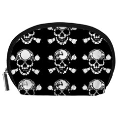 Skull Bling Accessory Pouch (large)