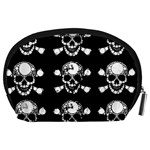 Skull Bling Accessory Pouch (Large) Back
