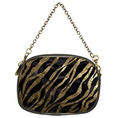 Gold Zebra  Chain Purse (two Sided)  by OCDesignss