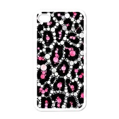 Pink Cheetah Bling Apple Iphone 4 Case (white)