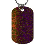 Classy Cheetah Dog Tag (One Sided) Front