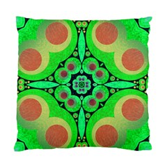 Neon Green  Cushion Case (single Sided)  by OCDesignss