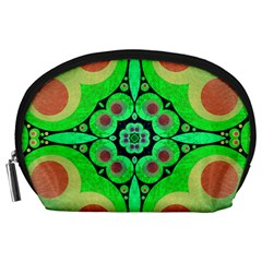 Neon Green  Accessory Pouch (large) by OCDesignss
