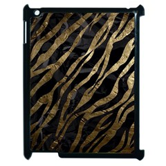 Gold Zebra  Apple Ipad 2 Case (black)
