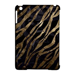 Gold Zebra  Apple Ipad Mini Hardshell Case (compatible With Smart Cover) by OCDesignss