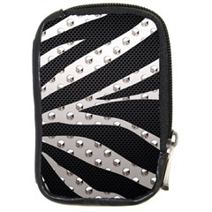Metal Zebra  Compact Camera Leather Case by OCDesignss