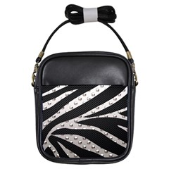 Metal Zebra  Girl s Sling Bag by OCDesignss