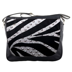 Metal Zebra  Messenger Bag by OCDesignss