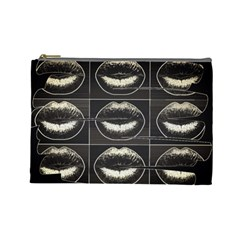 Black Liquor  Cosmetic Bag (large) by OCDesignss