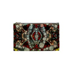 Crazy Abstract  Cosmetic Bag (small) by OCDesignss