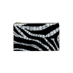 Spoiled Zebra  Cosmetic Bag (small) by OCDesignss