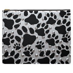 Paws On Me  Cosmetic Bag (xxxl) by OCDesignss