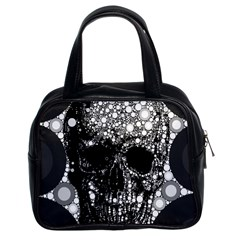 Skull Abstract Classic Handbag (two Sides) by OCDesignss