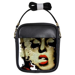 Woman With Attitude Grunge  Girl s Sling Bag by OCDesignss