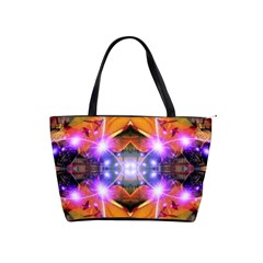 Abstract Flower Large Shoulder Bag by icarusismartdesigns