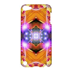 Abstract Flower Apple Ipod Touch 5 Hardshell Case by icarusismartdesigns