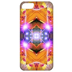 Abstract Flower Apple Iphone 5 Classic Hardshell Case by icarusismartdesigns