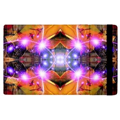 Abstract Flower Apple Ipad 3/4 Flip Case by icarusismartdesigns