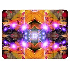 Abstract Flower Samsung Galaxy Tab 7  P1000 Flip Case by icarusismartdesigns