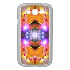 Abstract Flower Samsung Galaxy Grand Duos I9082 Case (white) by icarusismartdesigns