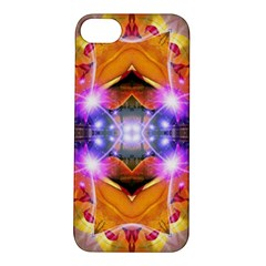 Abstract Flower Apple Iphone 5s Hardshell Case by icarusismartdesigns