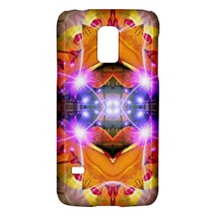 Abstract Flower Samsung Galaxy S5 Mini Hardshell Case  by icarusismartdesigns
