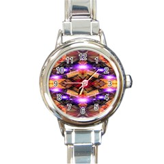 Third Eye Round Italian Charm Watch