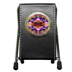 Third Eye Stationery Holder Clock by icarusismartdesigns