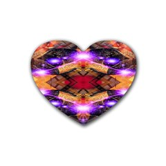 Third Eye Drink Coasters (heart) by icarusismartdesigns