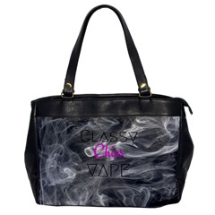 Classy Chics Vape  Oversize Office Handbag (one Side) by OCDesignss