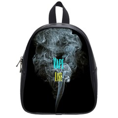 Vape Life Clouds  School Bag (small) by OCDesignss
