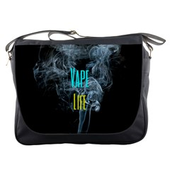 Vape Life Clouds  Messenger Bag by OCDesignss