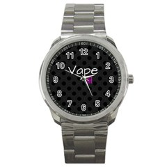 Vape Life Twirlz Sport Metal Watch by OCDesignss