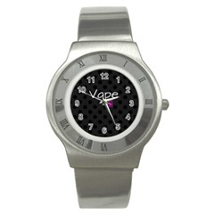Vape Life Twirlz Stainless Steel Watch (slim) by OCDesignss