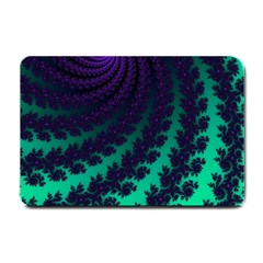 Sssssssfractal Small Door Mat by urockshop