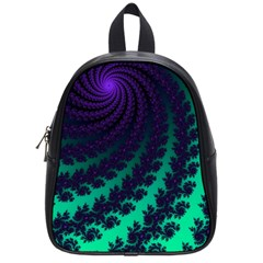Sssssssfractal School Bag (small)