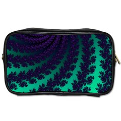 Sssssssfractal Travel Toiletry Bag (one Side) by urockshop