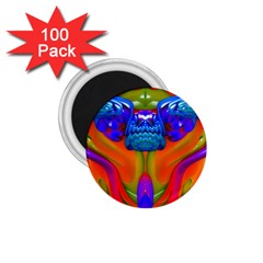 Lava Creature 1 75  Button Magnet (100 Pack) by icarusismartdesigns