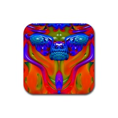 Lava Creature Drink Coasters 4 Pack (square) by icarusismartdesigns