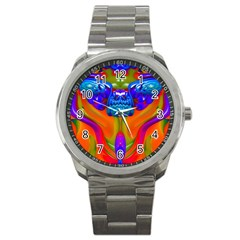 Lava Creature Sport Metal Watch by icarusismartdesigns